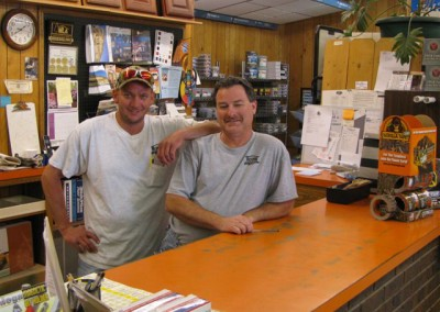 Floyd and Roger, Home Lumber, Anthony, Kansas.