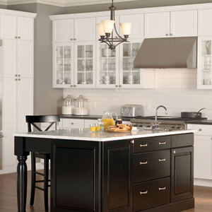 Cabinets and design pratt home lumber and supply - Mid continent cabinets ...