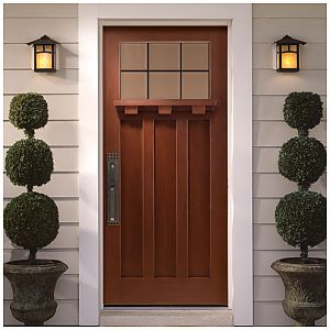 Masonite exterior door.