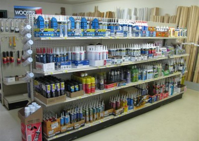 Sundries and applicators.